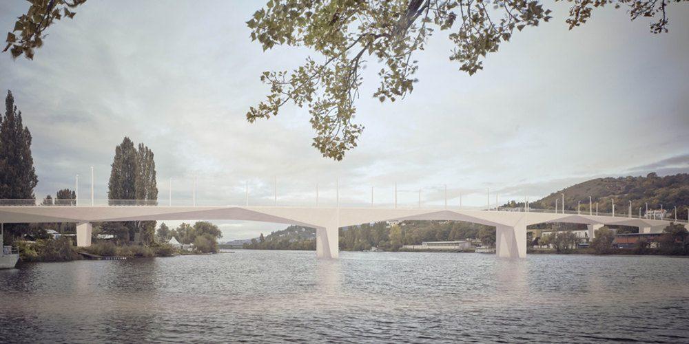 Dvorecký most do tří let spojí Prahu 4a 5