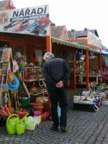 Holešovická tržnice bez stánků