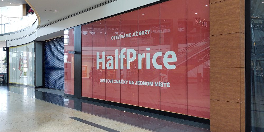 Do Česka vstupuje nová síť prodejen HalfPrice. První prodejna bude v Praze