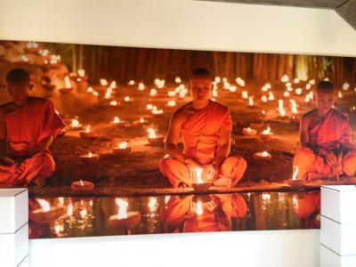 obraz mnichů