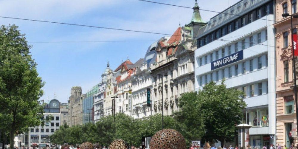 Praha za revitalizaci spodní část Václavského náměstí zaplatí přes 300 milionů