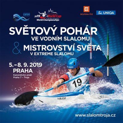 ICF Canoe Slalom World Cup, Prague 2019